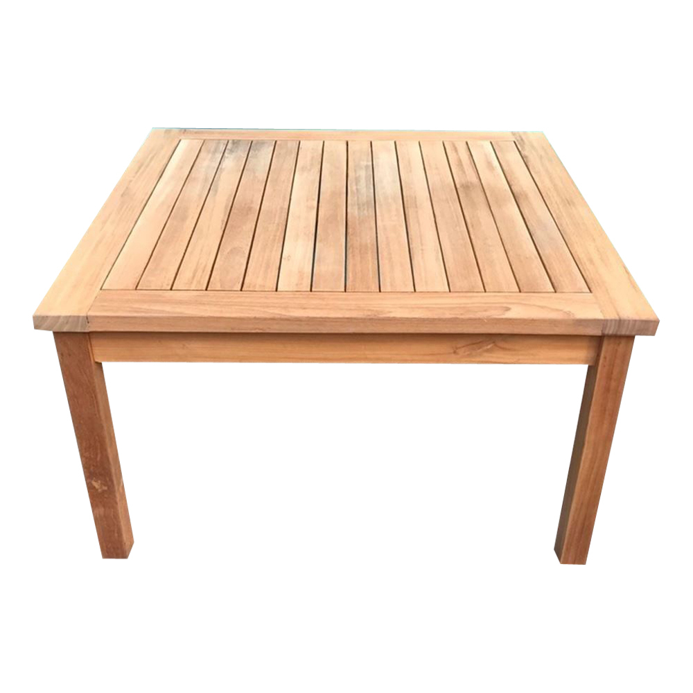 Square Coffee Table Brisbane: Solid Teak Wood Large Square Coffee Table Garden Outdoor