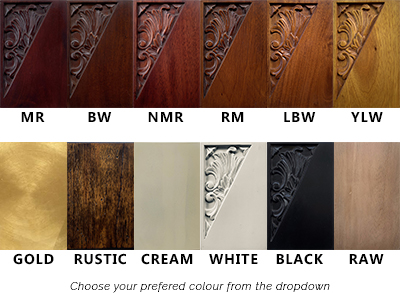 Mahogany Wood Colours