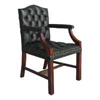 Solid Mahogany Wood Office Chair / Classic Chair Pre-Order