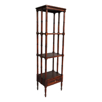 Solid Mahogany Wood Bookshelf Stand / Pre-Order