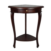 Solid Mahogany Wood Corner Lamp Table 12068