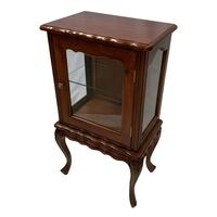 Solid Mahogany Small Display Cabinet 12163/ Vitrine