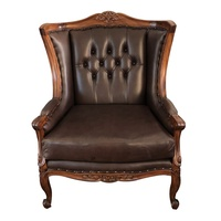 Solid Mahogany Wood French Sofa Chair PRE-ORDER