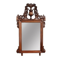 Solid Mahogany Wood Hand Crafted Ursula Wall Mirror