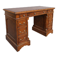 Solid Mahogany Home Office Desk Antique Reproduction Design Pre-Order