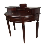 Mahogany Writing Table Vanessa Collection