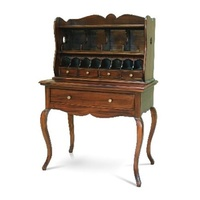 Solid Mahogany Wood Writing Desk