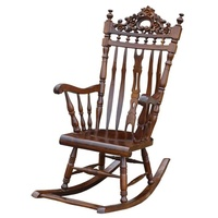Mahogany Wood Rocking Chair / Relax Chair