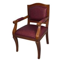 Solid Mahogany Wood Office Chair / Classic Chair/Pre-Order