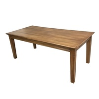 Solid Mindi Wood Dining Table 2m