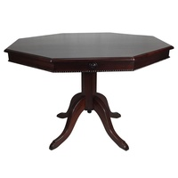 Mahogany Octagonal Dining Table 120cm
