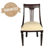 Solid Mahogany Wood Dutch Optima Chair
