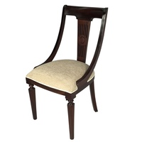 Solid Mahogany Wood Reproduction Style Royal Carver Dining Arm Chair