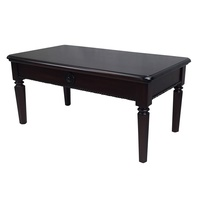 Solid Mahogany Wood Coffee Table 130 cm