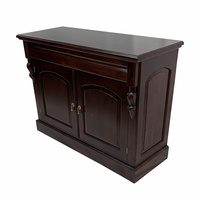 Solid Mahogany Wood 2 Doors Buffet