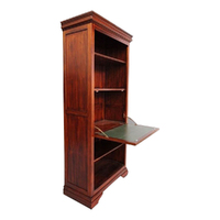 Solid Mahogany Wood Tall Bookshelf and Table / PRE-ORDER
