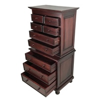 Solid Mahogany Wood Chest of Drawers
