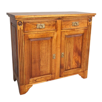Solid Mahogany Wood 2 Door Buffet