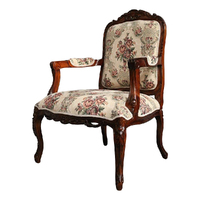 French provincial Style Large Louis Arm Chair