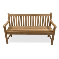 Outdoor Furniture Solid Teak Classic Bench 150cm