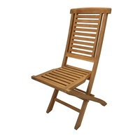 Outdoor Furniture Solid Teak Wood Folding Chair
