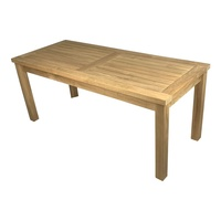 Solid Teak Wood Classic Outdoor Furniture Garden Rectangular Coffee Table