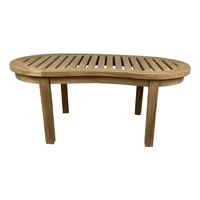 Outdoor Furniture Solid Teak Wood Orlando Garden Coffee Table