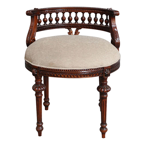 Solid Mahogany Hand Crafted Evita Chair
