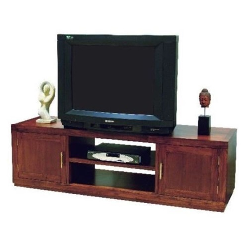 Teak Wood TV Stand / Cabinet with Shelves & cupboards