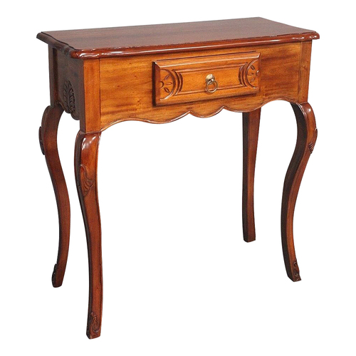 Solid Mahogany Wood French Style Hall Table Pre-Order